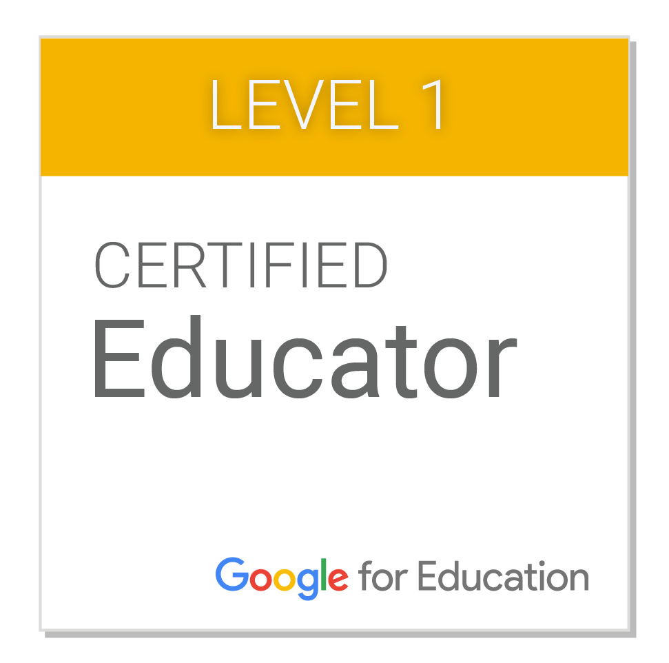 Google Level 1 Certification